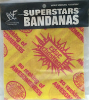 (TAS032738) - Titan Sports Wrestling Superstars Bandanas - Edge & Christian, , Clothing & Accessories, Wrestling, The Angry Spider Vintage Toys & Collectibles Store