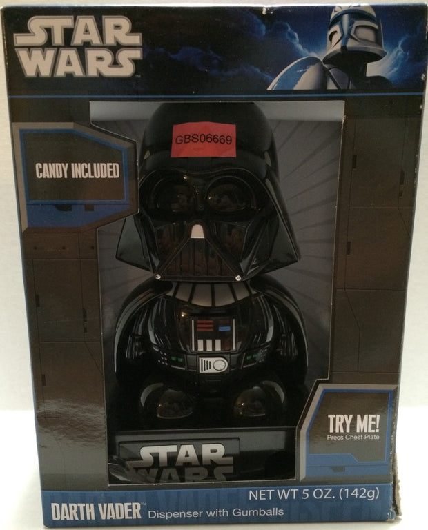 (TAS032741) - Hasbro Vintage Star Wars Gumball Candy Dispenser - Darth Vader, , Other, Star Wars, The Angry Spider Vintage Toys & Collectibles Store