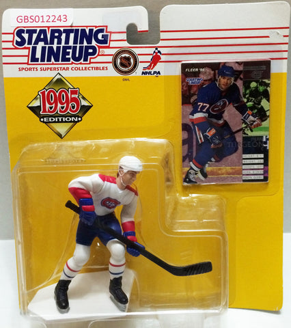 (TAS032743) - 1995 Kenner Starting Lineup NHL Figure - Pierre Turgeon, , Action Figure, NHL, The Angry Spider Vintage Toys & Collectibles Store