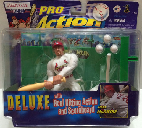 (TAS032744) - Kenner Starting Lineup MLB Pro Action Deluxe Figure - Mark McGwire, , Action Figure, MLB, The Angry Spider Vintage Toys & Collectibles Store