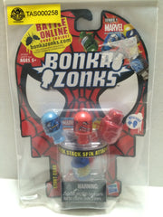 (TAS032750) - Hasbro Bonka Zonks Marvel Series 1 Stunt Card Set, , Game, Marvel, The Angry Spider Vintage Toys & Collectibles Store