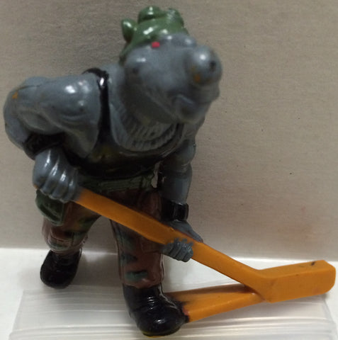 (TAS032754) - Teenage Mutant Ninja Turtles Hockey Game Figure - Rocksteady, , Game, TMNT, The Angry Spider Vintage Toys & Collectibles Store