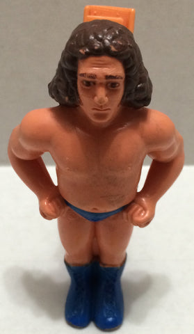 (TAS032765) - Titan Sports WWE WWF Wrestling Clip-On Figure - Andre The Giant, , Action Figure, Wrestling, The Angry Spider Vintage Toys & Collectibles Store