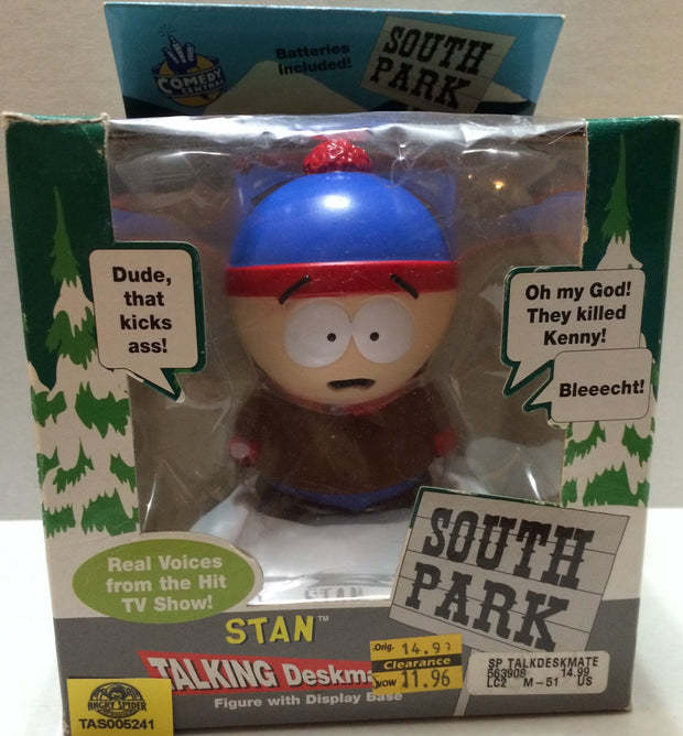 (TAS032766) - Comedy Central South Park Figure - Talking Stan, , Action Figure, South Park, The Angry Spider Vintage Toys & Collectibles Store