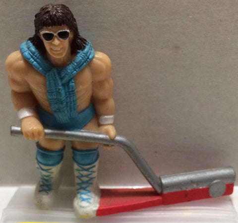 (TAS032767) - WWF WWE Wrestling PVC Hockey Figure - Rick Martel, , Action Figure, Wrestling, The Angry Spider Vintage Toys & Collectibles Store