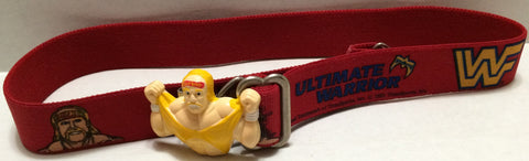 (TAS032768) - 1991 Titan Sports WWF WWE LJN Wrestling Kids Belt - Hulk Hogan, , Clothing & Accessories, Wrestling, The Angry Spider Vintage Toys & Collectibles Store