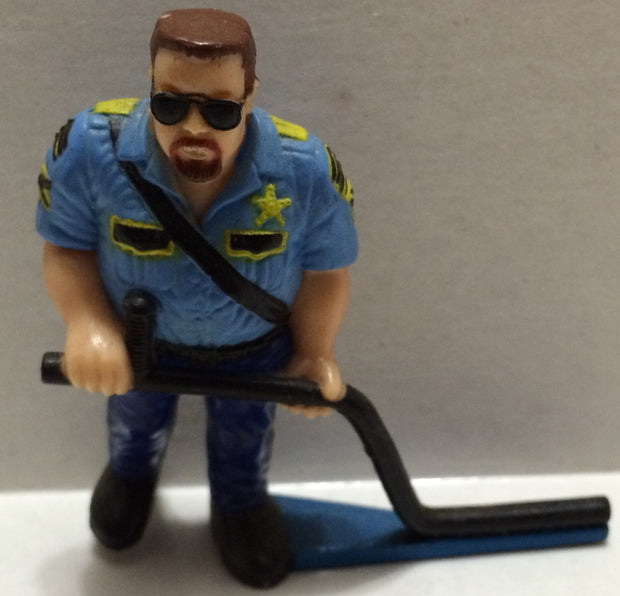 (TAS032772) - WWF WWE Wrestling PVC Hockey Figure - Big Boss Man, , Action Figure, Wrestling, The Angry Spider Vintage Toys & Collectibles Store