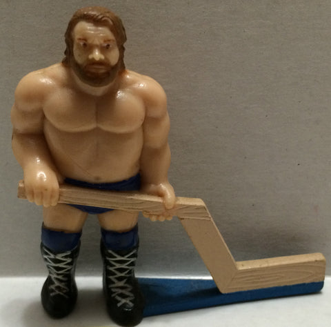 (TAS032773) - WWF WWE Wrestling PVC Hockey Figure - Hacksaw Jim Duggan, , Action Figure, Wrestling, The Angry Spider Vintage Toys & Collectibles Store