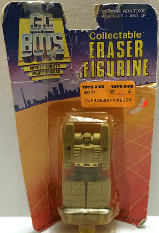 (TAS032774) - Tonka GoBots Collectable Eraser Figurine, , Pencils, Tonka, The Angry Spider Vintage Toys & Collectibles Store