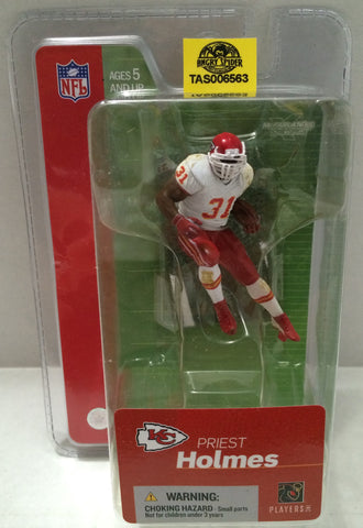 (TAS032779) - McFarlane Toys NFL Kansas City Chiefs Figure - Priest Holmes, , Action Figure, NFL, The Angry Spider Vintage Toys & Collectibles Store