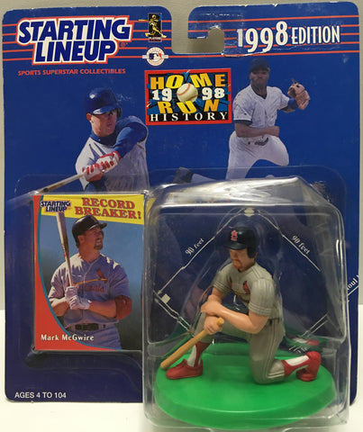 (TAS032782) - 1998 Kenner Starting Lineup MLB Figure - Mark McGwire, , Action Figure, Starting Lineup, The Angry Spider Vintage Toys & Collectibles Store  - 1