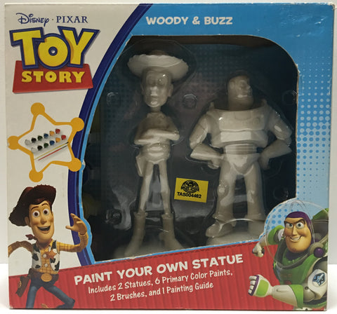 (TAS032793) - Disney Pixar Toy Story Paint Statue - Woody & Buzz, , Action Figure, Disney, The Angry Spider Vintage Toys & Collectibles Store  - 1