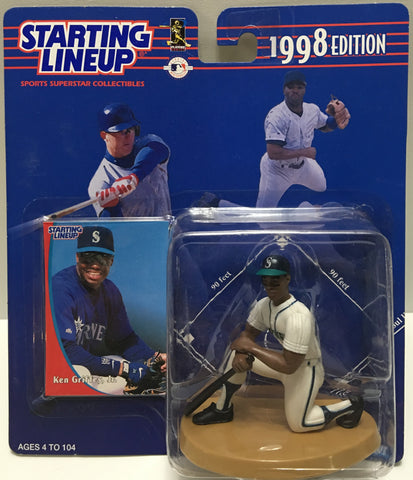 (TAS032796) - 1998 Kenner Starting Lineup MLB Figure - Ken Griffey Jr., , Action Figure, Starting Lineup, The Angry Spider Vintage Toys & Collectibles Store  - 1