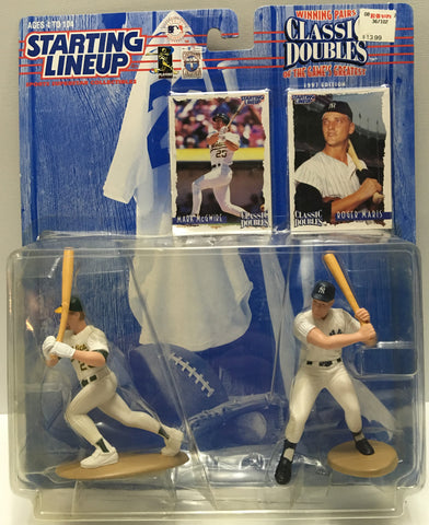 (TAS032798) - 1997 Kenner Starting Lineup MLB Classic Doubles - McGwire & Maris, , Action Figure, Starting Lineup, The Angry Spider Vintage Toys & Collectibles Store  - 1