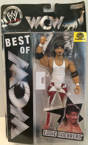 (TAS032812) - 2005 Jakks WWE WWF Best of WCW Wrestling Figure - Eddie Guerrero, , Action Figure, Wrestling, The Angry Spider Vintage Toys & Collectibles Store  - 1