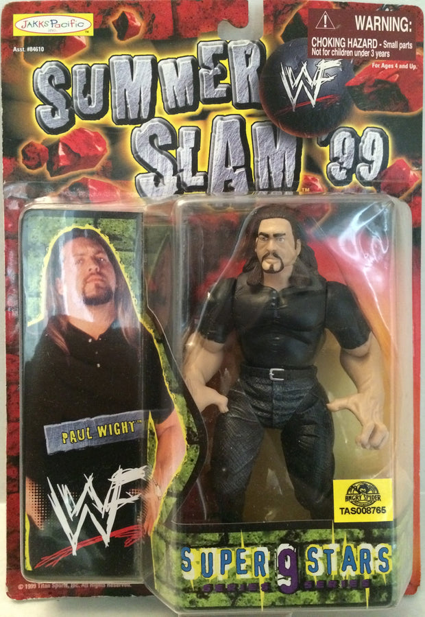 (TAS032821) - 1998 Jakks WWF WWE Summer Slam Wrestling Figure - Paul Wight, , Action Figure, Wrestling, The Angry Spider Vintage Toys & Collectibles Store  - 1