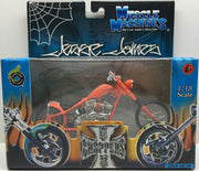 (TAS032832) - 2003 Muscle Machines 1:18 Die-Cast West Coast Choppers Jesse James, , Trucks & Cars, Muscle Machines, The Angry Spider Vintage Toys & Collectibles Store  - 1