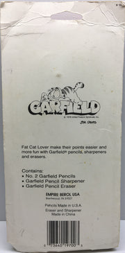(TAS032845) - 1978 Garfield Pencil Eraser, Sharpener & Pencils, , Pencils, Garfield, The Angry Spider Vintage Toys & Collectibles Store  - 2