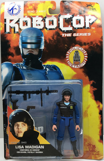 (TAS032846) - Toy Island RoboCop The Series Action Figure - Lisa Madigan, , Action Figure, RoboCop, The Angry Spider Vintage Toys & Collectibles Store  - 1