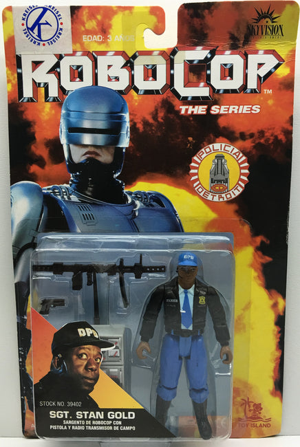 (TAS032847) - Toy Island RoboCop The Series Action Figure - Sgt. Stan Gold, , Action Figure, RoboCop, The Angry Spider Vintage Toys & Collectibles Store  - 1