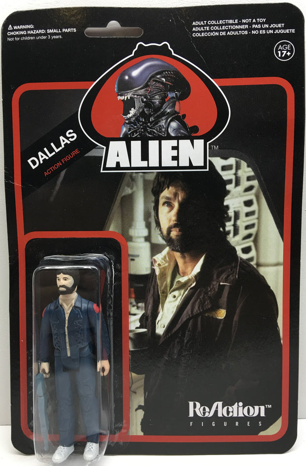 (TAS032850) - Funko ReAction Alien The Movie Action Figure - Dallas, , Action Figure, Funko, The Angry Spider Vintage Toys & Collectibles Store  - 1