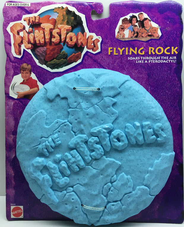 (TAS032855) - 1993 Mattel The Flintstones Flying Rock Frisbee, , Other, The Flinstones, The Angry Spider Vintage Toys & Collectibles Store  - 1