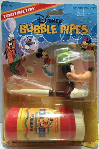 (TAS032878) - 1990 TootsieToy Disney Mickey Mouse Bubble Pipes - Goofy, , Other, Disney, The Angry Spider Vintage Toys & Collectibles Store  - 1