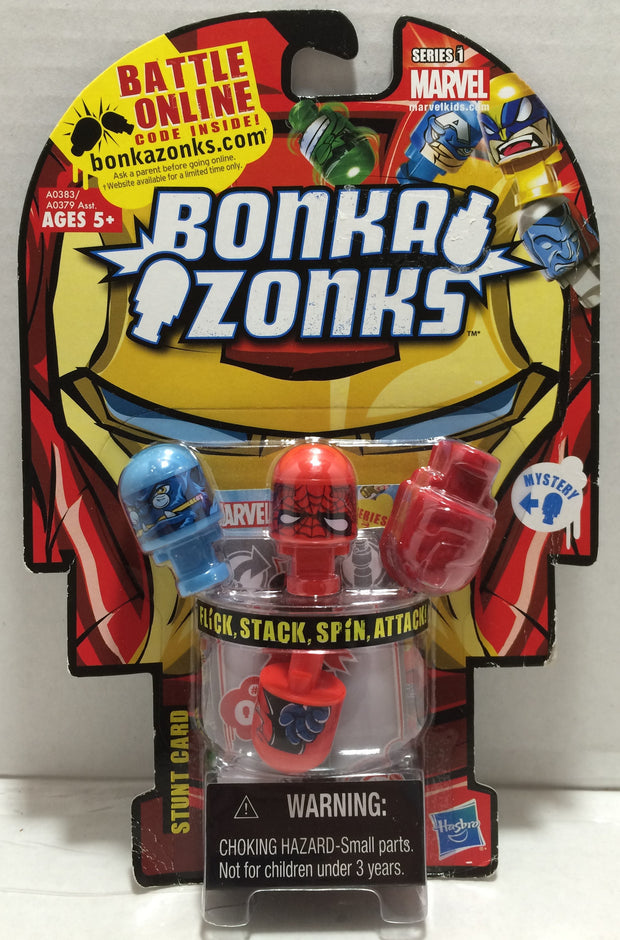 (TAS032881) - 2002 Hasbro Marvel Series 1 Bonka Zonks Battle Figures, , Action Figures, Marvel, The Angry Spider Vintage Toys & Collectibles Store  - 1