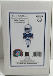 (TAS032890) - 2003 NFL Best Of The Gridiron Holiday Ornament - Emmitt Smith, , Ornament, NFL, The Angry Spider Vintage Toys & Collectibles Store