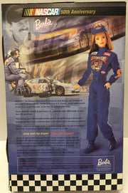 (TAS032898) - Mattel 50th Anniversary Nascar Barbie - Hot Wheels Kyle Petty, , Action Figure, NASCAR, The Angry Spider Vintage Toys & Collectibles Store  - 2