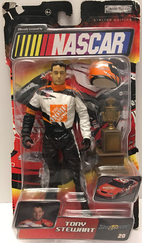 (TAS032908) - Jakks Pacific Nascar Road Champs Action Figure - Tony Stewart #20, , Action Figure, NASCAR, The Angry Spider Vintage Toys & Collectibles Store  - 1