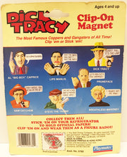 (TAS032917) - 1990 Playmates Disney Dick Tracy Clip-On Magnet - Lips Manlis, , Magnet, Disney, The Angry Spider Vintage Toys & Collectibles Store  - 2
