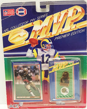 (TAS032927) - 1990 ACE NFL M.V.P. Collector Pin Series - Dalton Hilliard Saints, , Pins, NFL, The Angry Spider Vintage Toys & Collectibles Store  - 1
