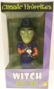 (TAS032930) - Classic Favorites Holiday Friends Bobble Head - Witch #1, , Bobblehead, n/a, The Angry Spider Vintage Toys & Collectibles Store  - 1