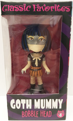 (TAS032931) - Classic Favorites Holiday Friends Bobble Head - Goth Mummy #4, , Bobblehead, n/a, The Angry Spider Vintage Toys & Collectibles Store  - 1