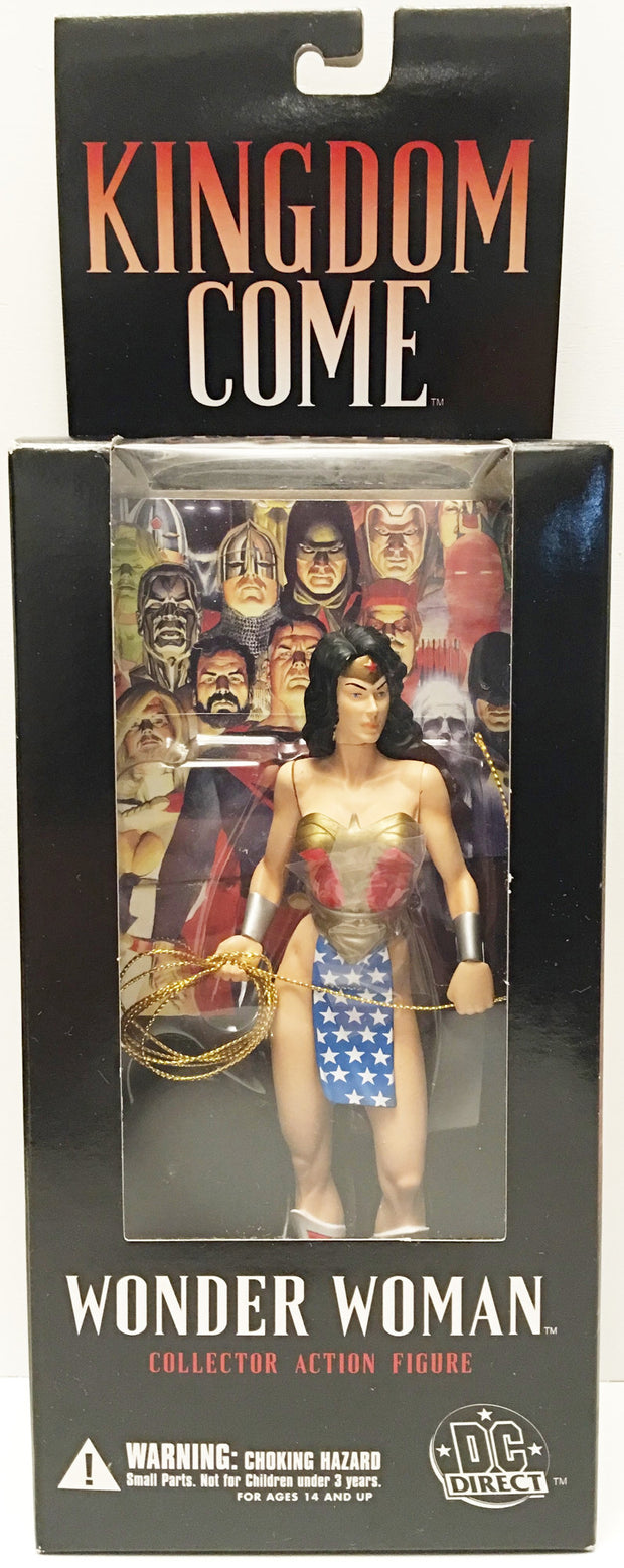 (TAS032938) - 2003 DC Direct Kingdom Come Collector Action Figure - Wonder Woman, , Action Figure, DC Comics, The Angry Spider Vintage Toys & Collectibles Store  - 1
