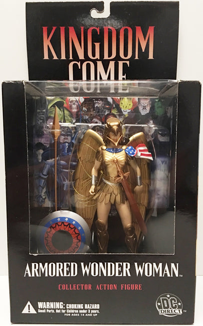 (TAS032946) - 2003 DC Direct Kingdom Come Collector Figure Armored Wonder Woman, , Action Figure, DC Comics, The Angry Spider Vintage Toys & Collectibles Store  - 1