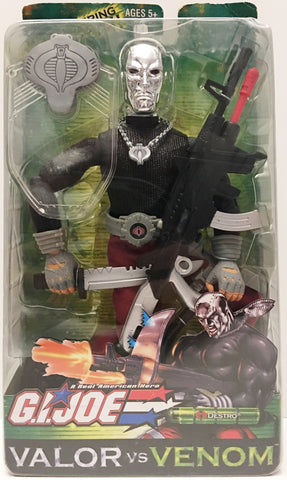 (TAS032947) - 2003 Hasbro G.I. Joe Valor vs Venom - Destro Action Figure, , Action Figure, G.I. Joe, The Angry Spider Vintage Toys & Collectibles Store  - 1