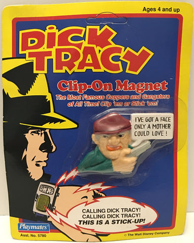 (TAS032948) - 1990 Playmates Disney Dick Tracy Clip-On Magnet - Steve The Tramp, , Magnet, Disney, The Angry Spider Vintage Toys & Collectibles Store  - 1
