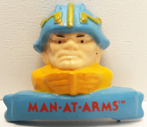(TAS032955) - 1984 Mattel He-Man Masters Of The Universe Magnet - Man-At-Arms, , Magnet, MOTU, The Angry Spider Vintage Toys & Collectibles Store  - 1