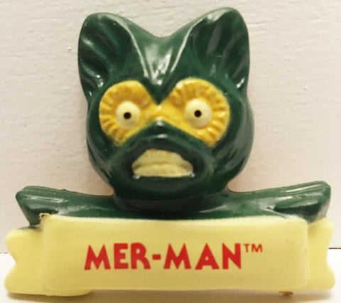 (TAS032956) - 1984 Mattel He-Man Masters Of The Universe Magnet - Mer-Man, , Magnet, MOTU, The Angry Spider Vintage Toys & Collectibles Store  - 1