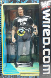 (TAS032976) - 1999 Jakks WWF WWE Internet-Active Electronic Figure Steve Austin, , Action Figure, Wrestling, The Angry Spider Vintage Toys & Collectibles Store  - 2