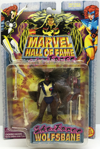 (TAS032984) - 1997 Toy Biz Marvel Comics Hall Of Fame - She-Force Wolfsbane, , Action Figure, Marvel, The Angry Spider Vintage Toys & Collectibles Store  - 1