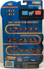 (TAS032996) - 2001 Jakks WWF WWE WrestleMania XVII - Triple H, , Action Figure, Wrestling, The Angry Spider Vintage Toys & Collectibles Store  - 2