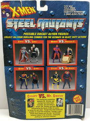 (TAS032998) - 1994 Toy Biz Marvel X-Men Steel Mutants - Cyclops vs. Mr. Sinister, , Action Figure, X-Men, The Angry Spider Vintage Toys & Collectibles Store  - 2