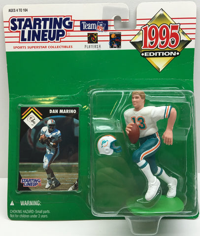 (TAS033004) - 1995 Kenner NFL Starting Lineup Superstar - Dan Marino - The Angry Spider Vintage Toys & Collectibles Store  - 1