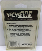 (TAS033009) - 1999 Kittrich WCW / nWo Wrestling Bag Tags - Goldberg, , Other, Wrestling, The Angry Spider Vintage Toys & Collectibles Store  - 2