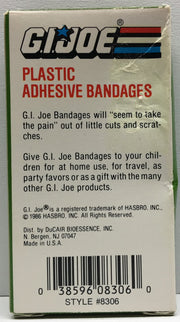 (TAS033010) - 1986 Hasbro G.I. Joe Plastic Adhesive Bandages, , Bath, G.I. Joe, The Angry Spider Vintage Toys & Collectibles Store  - 2