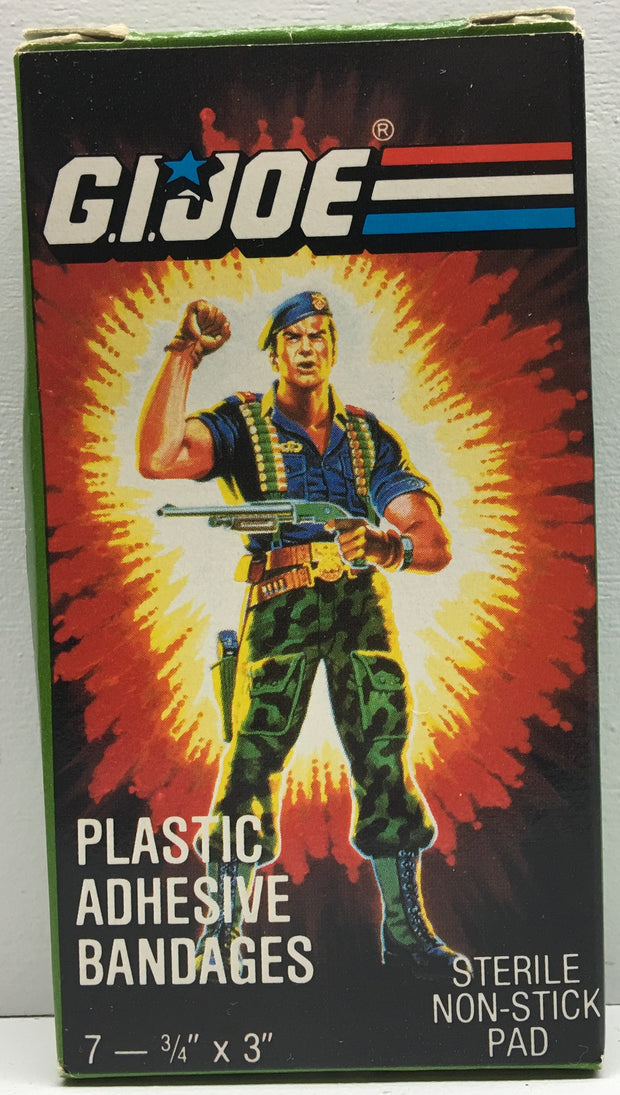 (TAS033010) - 1986 Hasbro G.I. Joe Plastic Adhesive Bandages, , Bath, G.I. Joe, The Angry Spider Vintage Toys & Collectibles Store  - 1