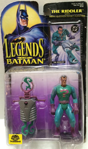 (TAS033015) - 1995 Kenner Legends Of Batman Action Figure - The Riddler, , Action Figure, Batman, The Angry Spider Vintage Toys & Collectibles Store  - 1